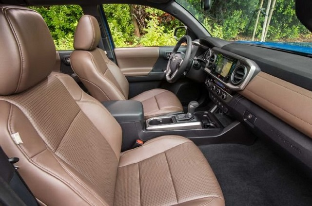 2020 Toyota Tacoma Colors - Hickory Interior
