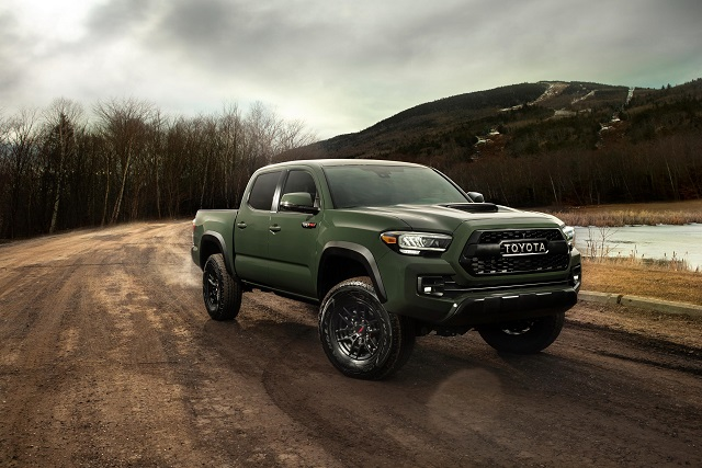 these are 2020 toyota tacoma colors  2021 tacoma