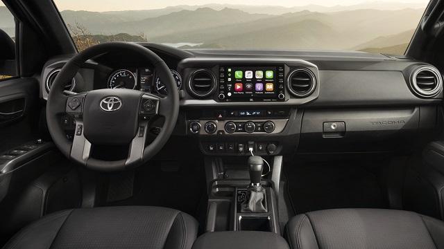 2021 Toyota Tacoma colors Interior