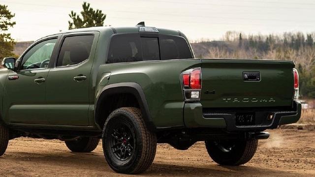 2021 Toyota Tacoma Hybrid rear