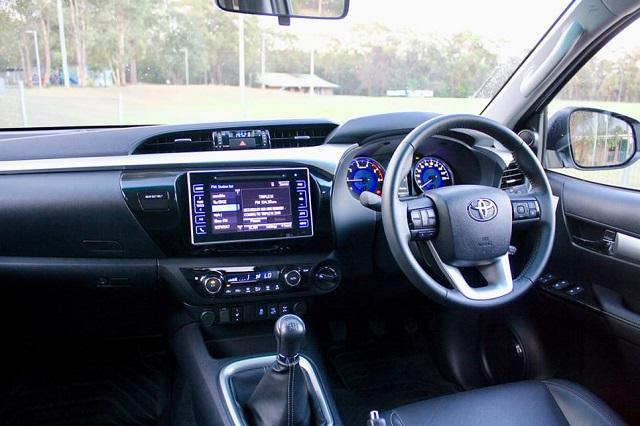 2020 Toyota Hilux Australia Interior