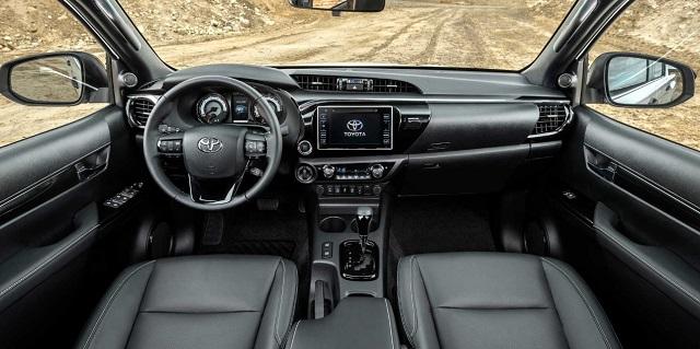 2021 Toyota Hilux Revo Interior