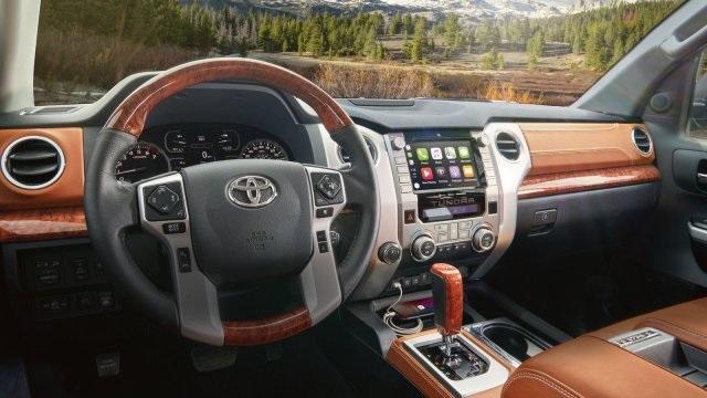 2020 Toyota Tundra 1794 Edition Interior