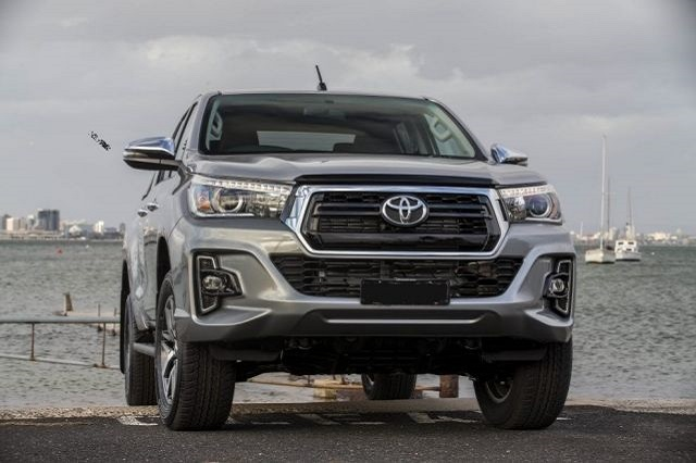 2021 Toyota Hilux front