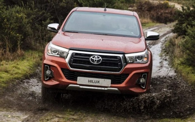 2021 Toyota Hilux USA front