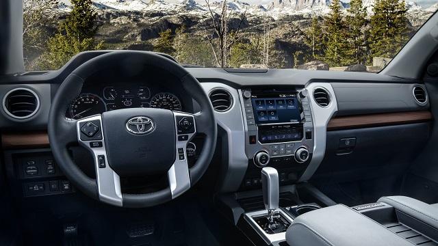 2021 Toyota Tundra Specs Interior