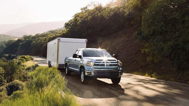 2021 Toyota Tundra Towing Capacity Ratings