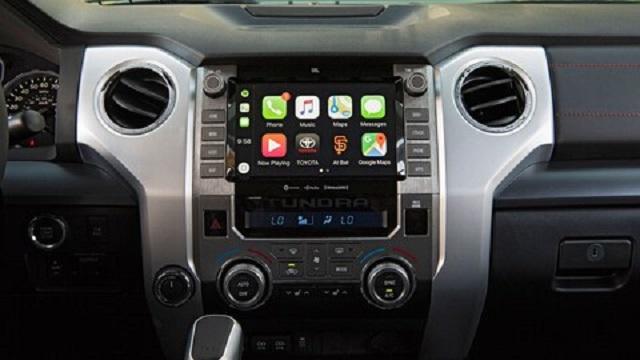 2020 Toyota Tundra Android Auto and Apple CarPlay