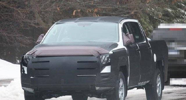 2022 Toyota Tundra TRD Pro Spy Shot
